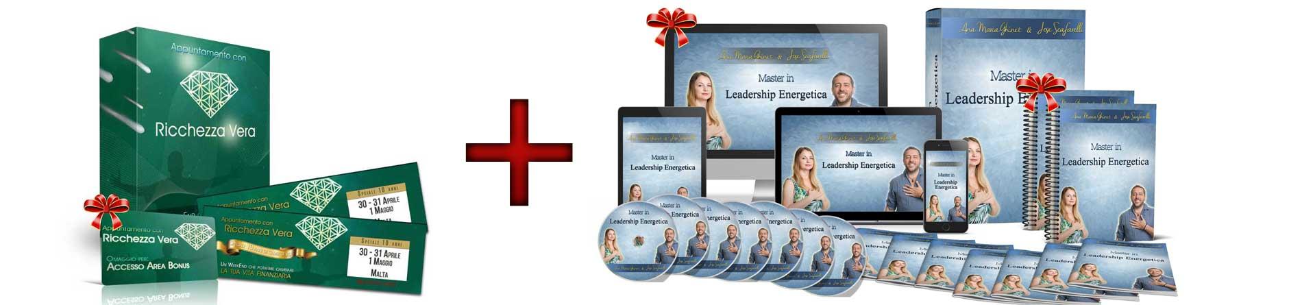 Appuntamento Con la Ricchezza Vera + Master in Leadership Energetica